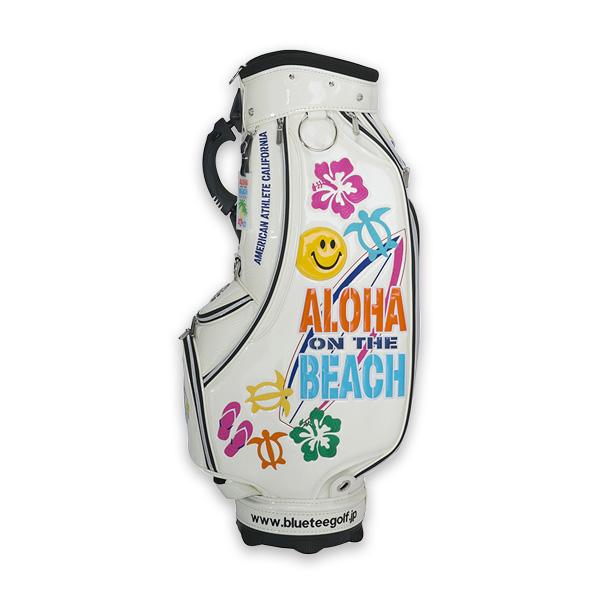 ALOHA ON THE BEACHカートキャディーバッグ(CB-009)