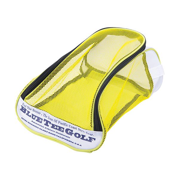 ナイロンメッシュシューズケース(SC-001/Yellow)
