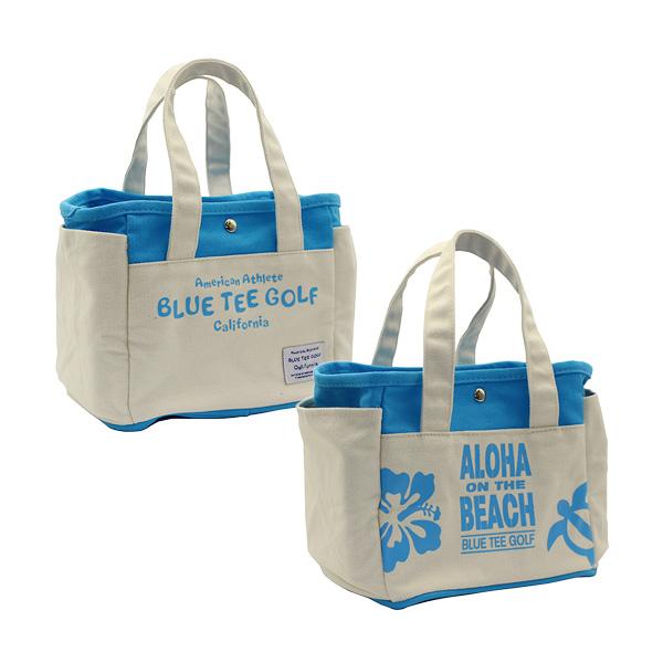ALOHA ON THE BEACHラウンドトートバッグ(TT-004/Blue)