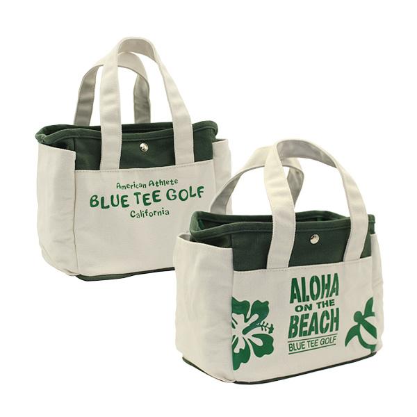 ALOHA ON THE BEACHラウンドトートバッグ(TT-004/Green)