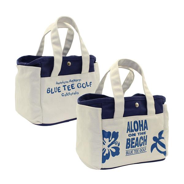 ALOHA ON THE BEACHラウンドトートバッグ(TT-004/Navy)