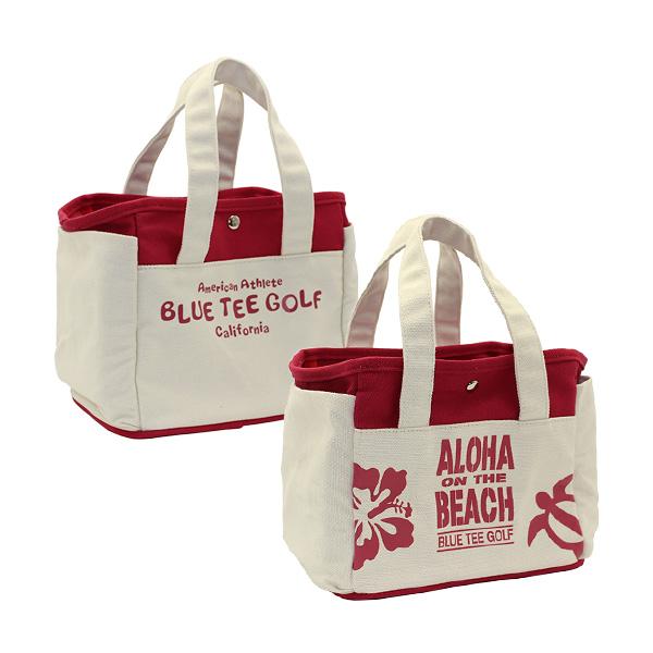 ALOHA ON THE BEACHラウンドトートバッグ(TT-004/Red)